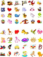 Oblique Unique® Tattoo Set 96 Stück Kindertattoos