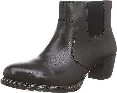Rieker Damen Z0652 Chelsea Boots, Schwarz (schwarz 01), 42 AFROK