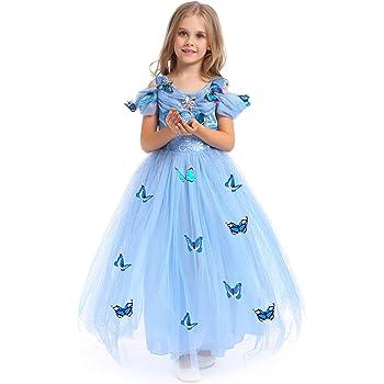 cd5806fb9102 Katara - Il Vestito Festivo di Principessa Elsa Frozen