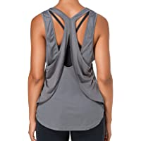 Sylanfia Yoga Racerback Tank Tops Athletic Vest Women Open Back Sports Tank Tops Workout Running Shirts for Fitness/Gym…