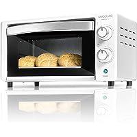 Cecotec Four à Convection Bake&Toast 490. Capacité de 10 litres, 1000 W, Température jusqu'à 230 ºC et Temps jusqu'à 60…