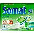 Somat All in 1 Pro Nature Spülmaschinen-Tabs, 56 Tabs, umweltfreundlich mit 100 Prozent Somat Leistung,mit wasserlöslicher F