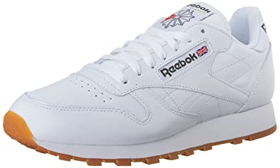 reebok white classic shoes men