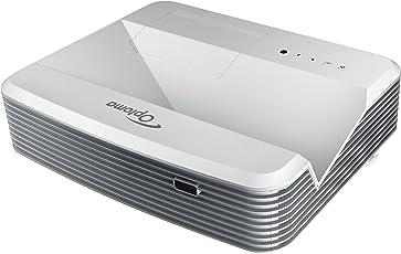 Optoma EH319UST Ultra Kurzdistanz DLP Projektor (Full HD, 3500 Lumen, 18.000:1 Kontrast, 3D)