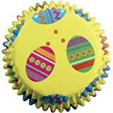 PME Colourful Eggs Paper Baking Cases for Cupcakes, Standard Size, Pack of 60