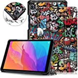 TOPCASE Custodia per Huawei MatePad T8 8.0 pollice Cover mit Stand Funzione,Graffiti