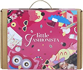 Art and Craft Felt Kit for Girls - Little Fashionista 3-in-1 DIY Fun Activities for Girls Ages 7-10, Perfect Birthday Gift for Girls Learning Stem Toys (3-in-1)