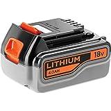 Black+Decker Li-ion-accu (18 V 4,0 Ah, voor alle 18 V/F5 tuingereedschap en elektrisch gereedschap, gebruiksvriendelijke accu
