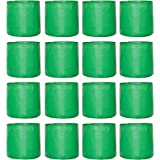 Leafy Tales HDPE Terrace Gardening Grow Bags, Green Color 9 x 9 inches, 16 Pieces