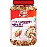 Amazon brand - Solimo Strawberry Muesli, 1kg