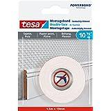 tesa UK 77742-00000-00 Monteringsband, Vit, 1,5m x 19mm