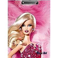 2Mech Barbie Cartoon Premium Quality Clipboard/Examination Pad/Exam Pad/Writing Pad Multi Color Size-9.5x13.5 Inches