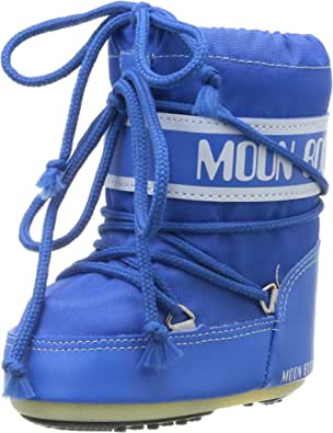 Moon-boot Mini Nylon, Stivali da Neve Unisex-Bambini
