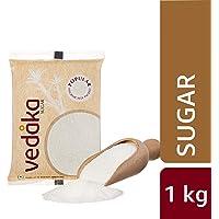 Amazon Brand - Vedaka Popular Sugar (Small Crystals), 1 kg