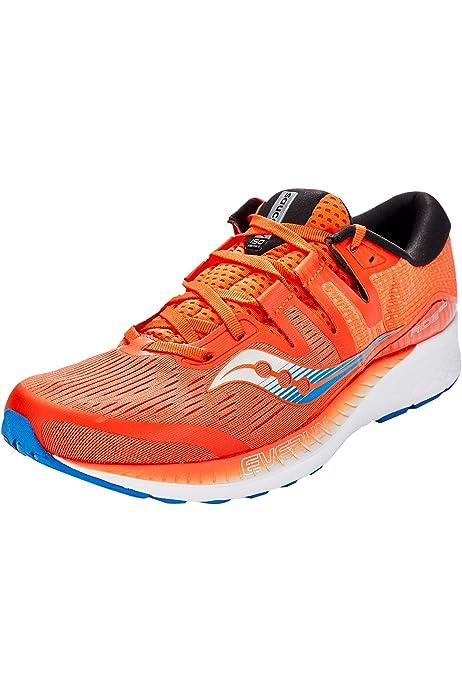 Saucony - Zapatillas Ride ISO 2 para hombre, Multicolor (Gris/ Azul), 40 EU: Amazon.es: Zapatos y complementos