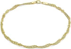 Carissima Gold Bracciale da Donna in Oro 9K (375), 19 cm