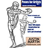 Poses for Artists - Dynamic & Sitting: An essential reference for figure drawing and the human form. (Inspiring Art and Artis