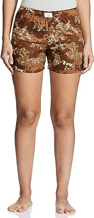 Diverse Women's Regular Fit Cotton Shorts