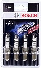 Bosch 0242232802 Zündkerze Super 4 FR78X - KSN 510  - 4er Set