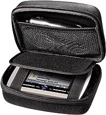 Hama Hartschalenetui Big für Navigationsgeräte (universal u.a. für TomTom, Garmin, Becker Navis und Zubehör, gepolstert, 14,5 x 9 x 3 cm) schwarz