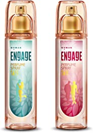 Engage W3 Perfume Spray For Women, 120ml and Engage W1 Perfume Spray For Women, 120ml