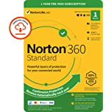 Norton 360 Standard 2021, Antivirus software for 1 Device and 1-year subscription with automatic renewal, Includes…