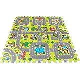 Brigamo 18011–Alfombra puzzle de ciudad, ampliable infinitamente