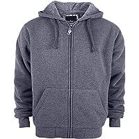 SwissWell Men's Fleece Jacket Windproof Thick Warm Active Coat Full Zip Fleece Outdoors Countrywear Pullover for Man…