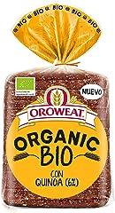 Oroweat- Pan Multicereales Ecológico, Organic Bio Quinoa y Trigo Espelta, 12 Rebanadas, 400gr