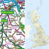 Great Britain Road Map Atlas