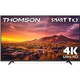 THOMSON 50UG6300 - Televisor LED de 50 pulgadas, Smart TV con 4K UHD, Dolby Audio, Compatible con Alexa