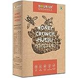 Nourish Organics Honey Crunch Muesli, 300g | Whole-Grains | Cashews, Almonds & Raisins (Single Pack)