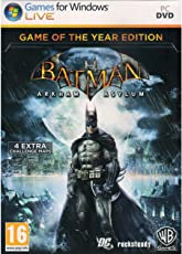 Batman : Arkham Asylum- Game of the year (PC DVD)