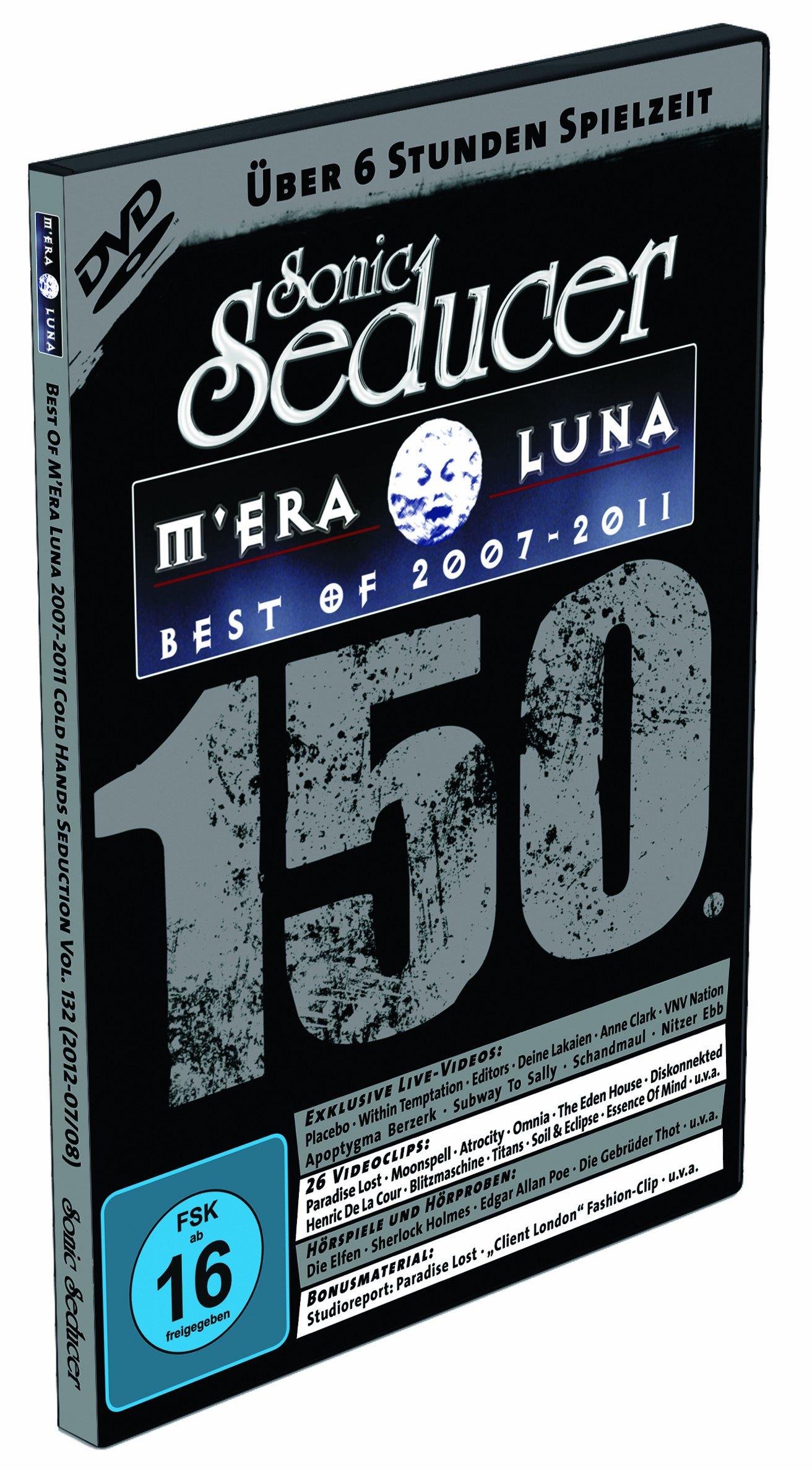 DVD: Best Of M'Era Luna 2007-2011 + 150. Sonic-Seducer-Ausgabe 07-08/12 mit Emilie-Autumn-Titelstor