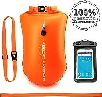 #limitlessXme Boya De Natación con Bolsa Seca Plus Bolsillo Impermeable Celular. Visibilidad y Seguridad al Nadar en el...
