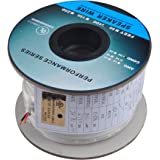 C&E Premium Series CL2 Rated 2-Conductor 16 Gauge in Wall Speaker Wire Cable (100 Feet / 30 Meters) 99.9% Oxygen Free Copper