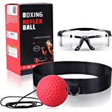 OOTO Upgraded Boxing Reflex Ball, Boxing Training Ball, Mma Speed Training Suitable for Adult/Kids Best Boxing Equipment for