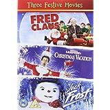 Jack Frost Fred Claus National Lampoons (3 Dvd) [Edizione: Regno Unito] [Italia]