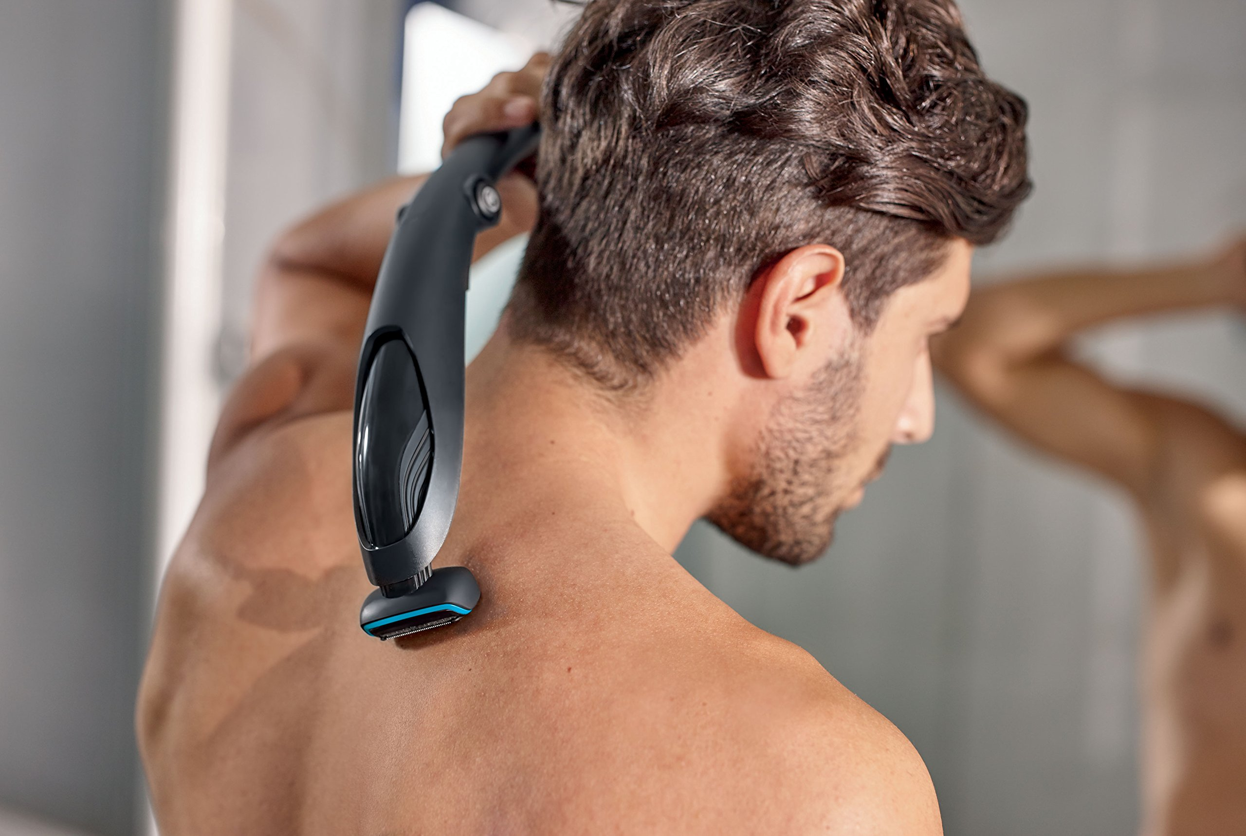 Philips Series 5000 Body Groomer With Skin Comfort System And Back Attachment