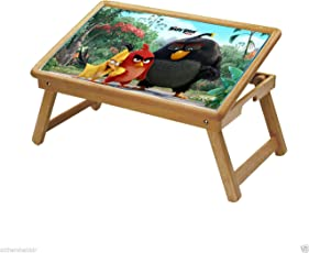DFS Multipurpose Foldable Study Table / School Activity Table / Bed Breakfast Tray for Kids - Cartoon Series (Birds 1)
