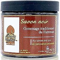 Gommage au Savon noir traditionnel 100% naturel 200ml