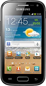 Samsung Galaxy Ace 2 GT-I8160 Smartphone (9,7 cm (3,8 Zoll) Touchscreen, 5 Megapixel Kamera, Android Betriebssystem) onyx-black ohne NFC