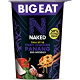 Naked The Big One Thai Fiery Chicken Panang Egg Noodles, 104g (Pack of 6)