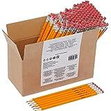 Amazon Basics Boîte de 150 crayons à papier prétaillés HB n°2