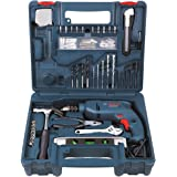 Bosch GSB 500W 500 RE Tool Set (Blue)
