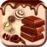 Schokoladen-Aufkleber