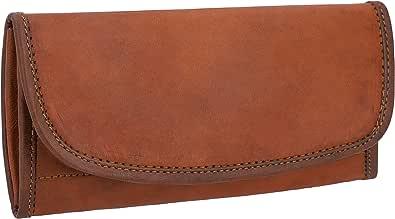GUSTI Portafoglio donna pelle - Emma borsellino donna portafogli donna grande porta carte di credito accessori donna