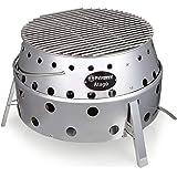 Petromax Atago - allrounder in de barbecue - gebruik als grill, oven of oven of vuurschaal