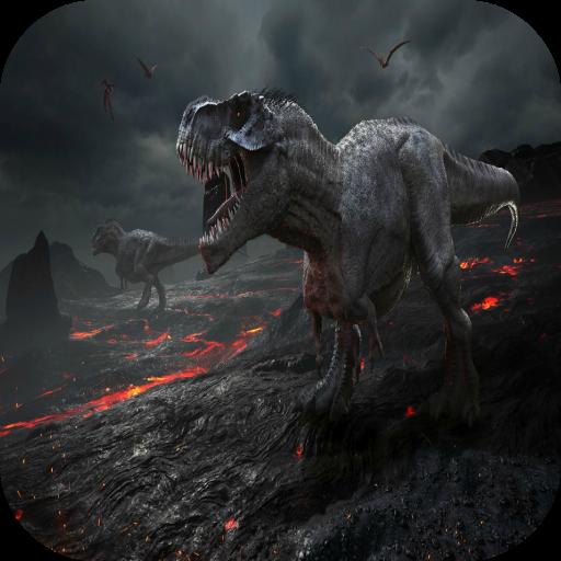 vieux-monde-jurassique-dinosaures-jeux-pour-des-gamins-gratuit-des-photos-des-sons-puzzles-correspon