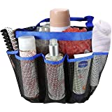 CPEX Quick Dry Hanging Toiletry and Bath Organizer with 8 Storage Compartments, Standard (Gl-Toiletry-Bag)